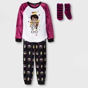Other - NWT Harry Potter PJ set XS and S kids